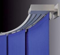 Vorhangschiene mit manueller Bedienung / zur Wandbefestigung / für Flächenvorhänge / für Privatgebrauch