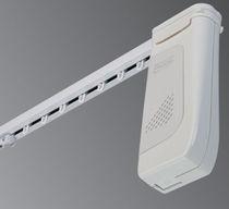 Motorisierte Vorhangschiene / für drapierte Vorhänge / für Wohnbereich / für Hotels