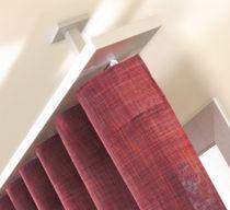 Vorhangschiene für Deckenmontage / zur Wandbefestigung / für drapierte Vorhänge / für Privatgebrauch