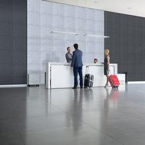 Akustikplatte für Innenausbau / für Decken / für Wände / Stoff