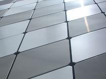 Fassadenverkleidung aus Verbundwerkstoff / Aluminium / Patina / Kassetten