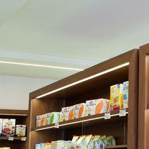 Beleuchtungsprofil zum Einbauen / LED / modulare Beleuchtungssysteme