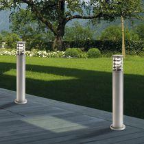 Leuchtpoller für den Garten / modern / extrudiertes Aluminium / Thermoplast