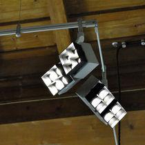 LED-Schienenleuchte / quadratisch / extrudiertes Aluminium / für Museen