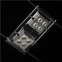 LED-Seilleuchte / quadratisch / Metall / Innen
