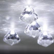 Moderne Deckenleuchte / aus Kristall / LED
