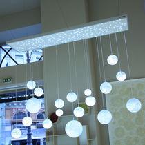 Moderner Lüster / Glas / LED