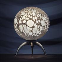 Tischlampe / originelles Design / Glas / geblasenes Glas