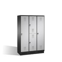 Metall-Garderobenschrank / für öffentliche Einrichtungen / Gewerbe