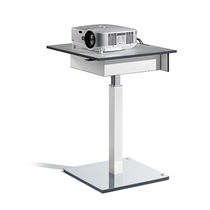 Moderner Tisch / Metall / quadratisch / Gewerbe
