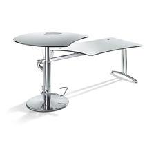 Schreibtisch für Open Space / HPL / modern / Gewerbe