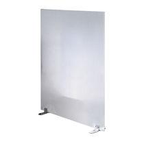 Bodenstehende Schreibtisch Trennwand / Stoff / Kunststoff / Stahl