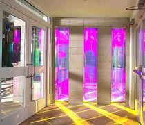 Glasplatte für Wände / für Trennwandsysteme / für Innenausbau / für Fassade