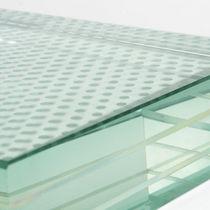 Fußboden Glasplatte / bedruckt / Ornament / rutschfest