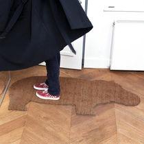 Moderner Teppich / uni / aus PVC