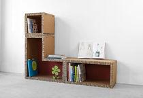 Modul Bücherschrank / modern / Karton