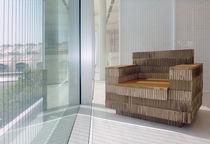 Moderner Sessel / wiederverwertet / recycelbar / Karton