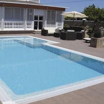 Mosaikfliese für Schwimmbecken / für Wände / Boden / Glas