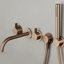 Wandmontage-Duschsystem / modern / mit Handbrause / Regenstrahl