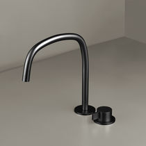 Waschtisch-Einhebelmischer / für Duschen / für Theken / verchromtes Metall