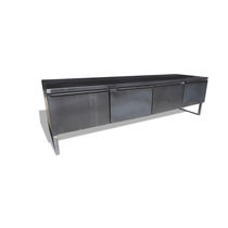 Industriestil-Sideboard / aus Stahl / nach Maß