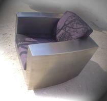 Sessel / originelles Design / mit Rollen / Armlehnen / nach Maß