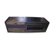 Industriestil-Sideboard / aus Eiche / Eisen / aus Stahlblech