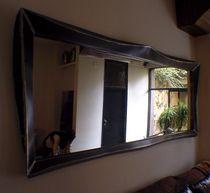 Wandmontierter Spiegel / Industriestil / rechteckig / quadratisch