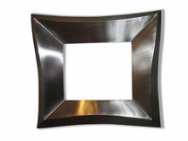Wandmontierter Spiegel / modern / rechteckig / quadratisch