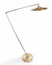 Stehlampe / originelles Design / aus Messing / für Innenbereich
