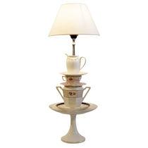 Tischlampe / originelles Design / aus Porzellan / für Innenbereich