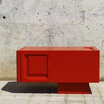 Moderner Fernseh Sideboard / lowboard / nach Maß / lackiertes Holz