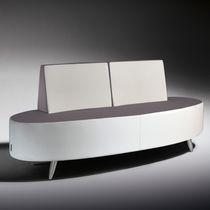 Modernes Sofa / Stoff / für öffentliche Einrichtungen / 2 Plätze
