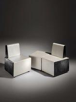 Moderner Sitzpuff / Schaumstoff / modulierbar