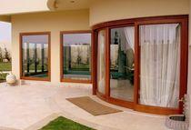 Hebe-Schiebe-Terrassentür / Holz / Doppelverglasung