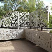 Aluminium-Gitterstein / für den Garten / Terrassen / nach Maß