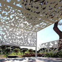 Aluminium-Sonnenschutzlamelle / für Fassaden / für Verandas / für Überdachung