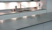 Edelstahl-Arbeitsplatte / Küchen
