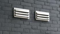 Metall-Lüftungsgitter / rechteckig / für Küchen
