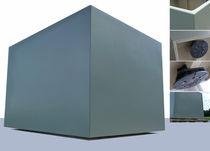 Kunststoff-Pflanzkübel / quadratisch / nach Maß / modern