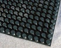 Drainage-Folie / aus Gummi / für Drainage / für hochbelastbaren / für Flachdächer