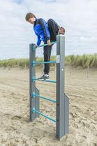 Leiter für Sportparcours / Holz / Stahl
