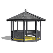 Holzpavillon / öffentliche Bereiche