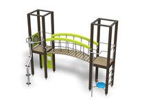 Holz-Spielplatzgerät / für Spielplätze / modular
