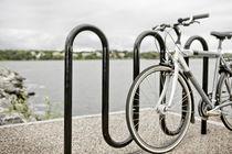 Bodenstehender Fahrradständer / Stahl