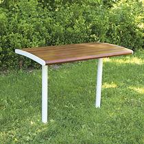 Tisch / Skandinavisches Design / Holz / rechteckig / für Restaurants