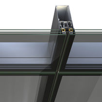 Strukturglasvorhangfassade