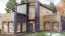 Aluminium-Fensterprofil / wärmeisoliert