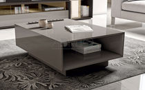 Moderne Couchtisch / lackiertes Holz / rechteckig / für Innenbereich