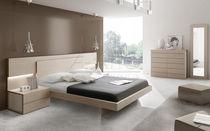 Standardbett / doppelt / modern / Holz